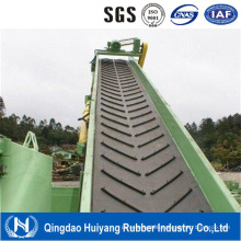 Chevron Pattern V Rubber Conveyor Belt Price Used in Industrial