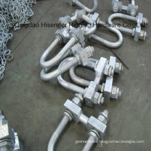 U Bolt, Galvanized, Industry, Electricy