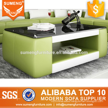 SUMENG china luxury new green coffee tables