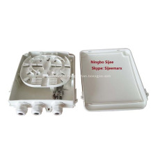 Boîte de distribution extérieure pour séparateur de fibre optique à 8 ports