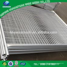 Gold Supplier China Promotion Customized heißer Verkauf gute Qualität wpc temporäre Zaun