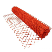 Orange Safety Fence Barrier Visual Barrier used in construction sites and crowd control