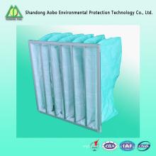 Médias de filtre à air de poche (filtre à air de la série F5 F6 F7 F8 F9) / Shandong AOBO