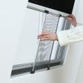Aluminum extendable window screen