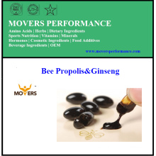 Propóleos de abeja y Ginseng / Cápsulas vegetales / Sin conservantes