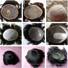 peluca de toupee cabello humano remy