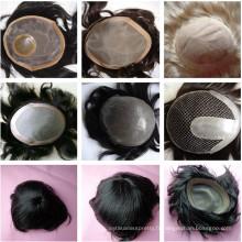 cheveux toupet remy cheveux humains