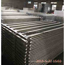 115X42mm Oval Rails Cattle Panel, Panel Ganadero