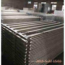 115X42mm Painel de gado oval Rails, Painel de gado