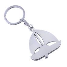 New Style Metal Key Chain Innovativer Segelboot-Schlüsselring