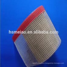 Heat resistance fiberglass mesh coated teflon fabric
