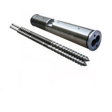Zhoushan Conical Twin Screw and Barrel Used for PVC Drainage Pipes
