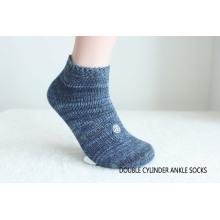 Мужские хлопковые носки лодыжки-1
