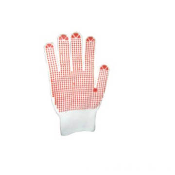 Cotton Working Gloves Non-slip Dots
