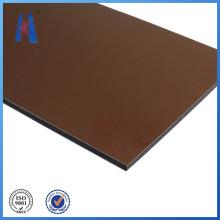 Material de construcción de panel compuesto de aluminio más competitivo