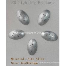 Peças de iluminação LED-Parte inferior Oval