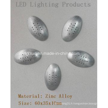 Pièces d'éclairage LED-Oval Bottom Cover