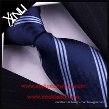 Nettoyage à sec seulement bon marché Polyester Mens Cravate Microfiber
