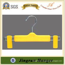 2015 Новая мода желтого пластика Baby Pants Hanger