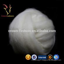 Chèvre de cachemire de qualité peignée Les fibres de laine