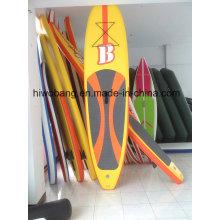 Popular prancha inflável de stand up paddle, prancha de sup