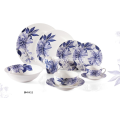 New Bone China Blue kwiatowy obiadowy