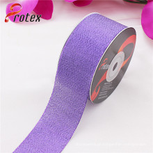 Lila Metallic Ribbon