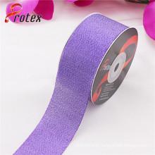 Purple Metallic Ribbon