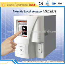 Portable hematology analyzer 3 diff/popular hematology equipment in China MSLAB21