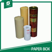 Custom Cardboard Paper Tube Tin Tube with Lid