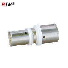 A17 4 14 prensa neumática prensado conector recto accesorios de tubería de soldadura