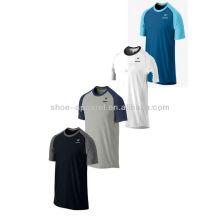 2014 camisas de tênis dos homens UV personalizados Dri-FIT