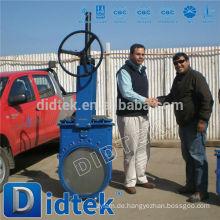 Didtek Ammoniak WCB Messer-Schieberventil