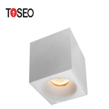 MR16 GU10 lighting fixture ceiling light square fixed surface mounted downlight