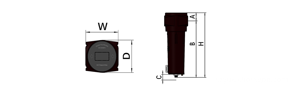 WS Series Product Drawing