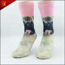 Hot-vente de chaussettes impression personnalisées