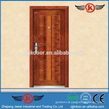 Porta de entrada blindada em aço e madeira JK-A9002 projetada para o mercado da Itália