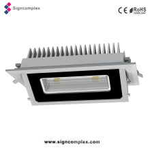 China Epistar 5730SMD 20W / 30W Empotrable Rectangular LED luz de techo