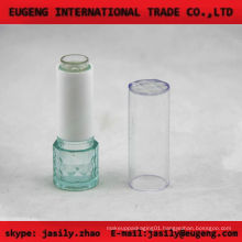 fashion round transparent lip balm case