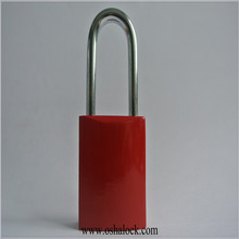 Aluminum Padlock for Safety Lockout