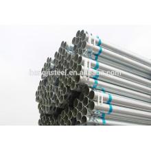 # China fabricante quente dip galvanizado especificação tubo de aço