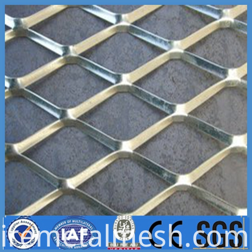 Expanded stainless steel/Aluminum expanded metal wire mesh(hot sale)