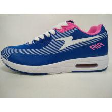 Женщины синий дышащий спортивный кроссовки