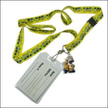 Пластиковое имя / удостоверение личности Значок Держатель катушки Пользовательский ремешок для ремня для ремня (NLC023)