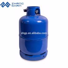 Tanques de gás de cilindro de GLP usados domésticos de 4,5 kg Turquia