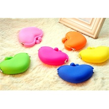 Attractive Colourful Silicone Coin Bag