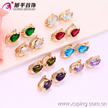 Xuping моды многоцветной серьги (28827)