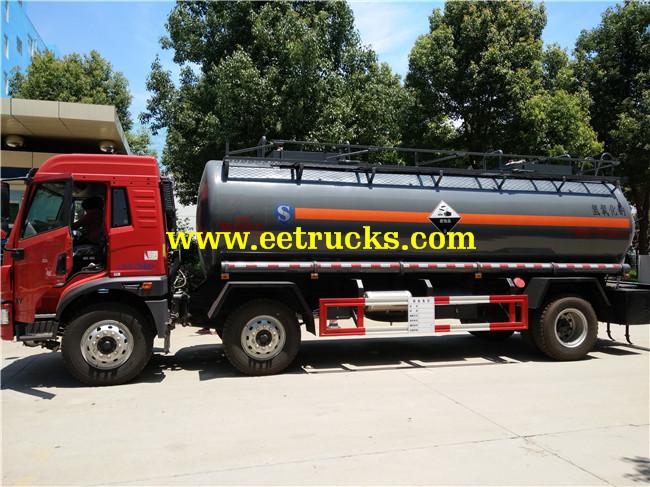 15 CBM Sodium Hydroxide Tanker Trucks