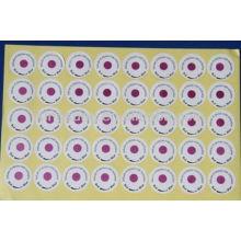 Etiqueta indicadora química de esterilización EO