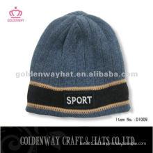 Sombrero hecho punto invierno de la promoción de los hombres